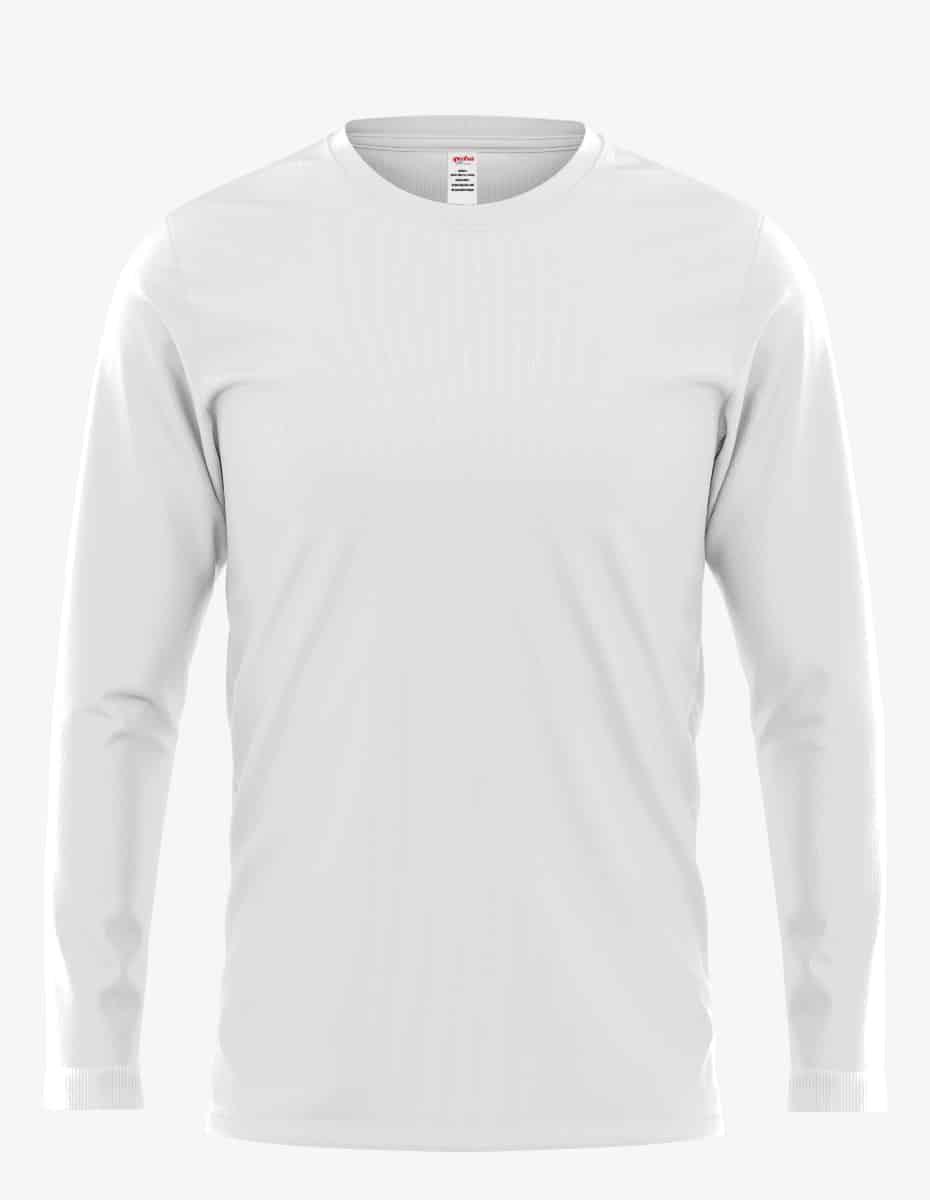 3055pfd white front, Bulk Unisex Cotton Perfection Crew - PFD Tee